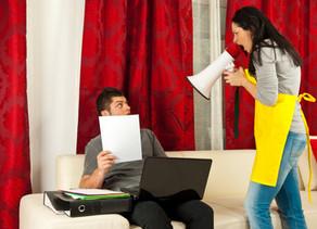 6 טיפים להתמודדות עם בלגן ואגרנות של אחד מבני הזוג