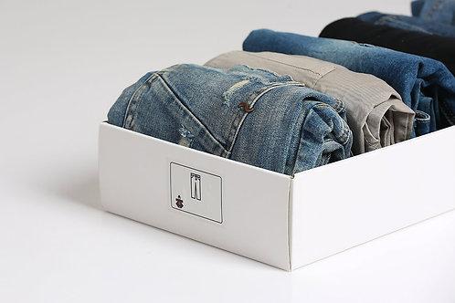 סט מדבקות לסידור בגדים