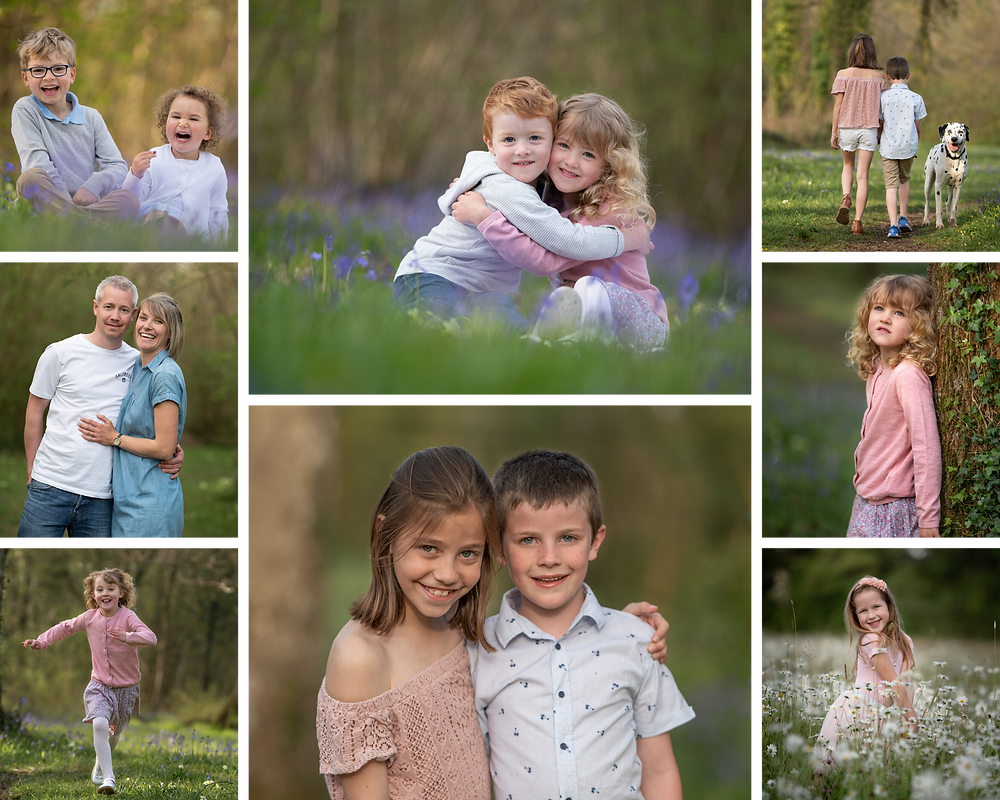 Spring family photos, by Somerset photographer Sarah Gibson