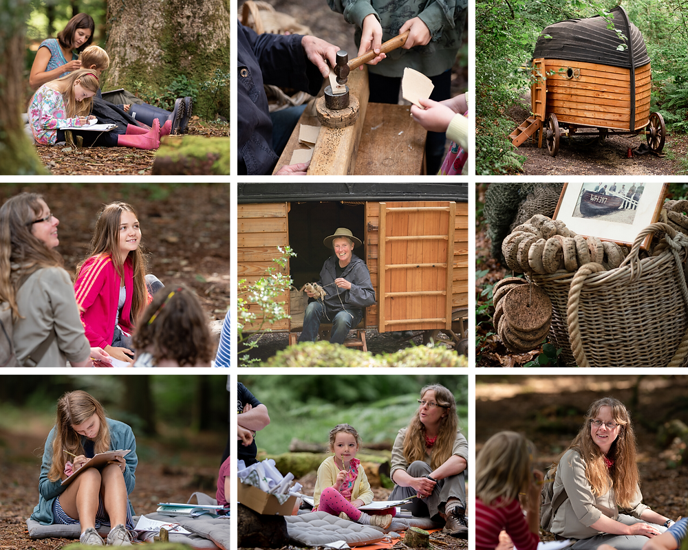 Photographs from Forestry England event in Axminster, Devon. Taken by Somerset Photographer Sarah Gibson