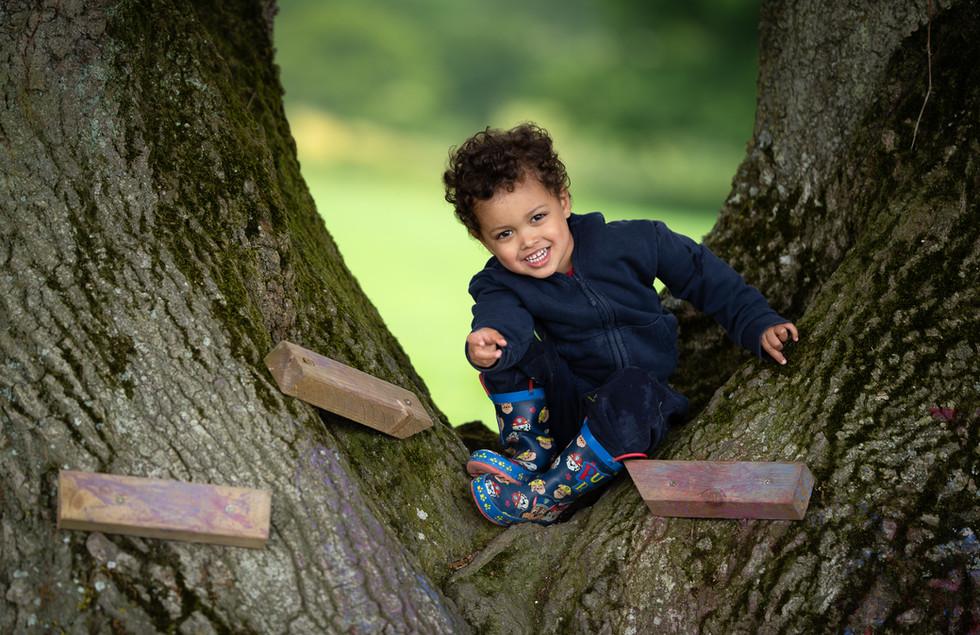 Outdoor nursery photography