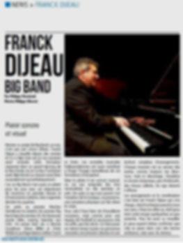 Franck Dijeau Big Band - Gazette Bleue