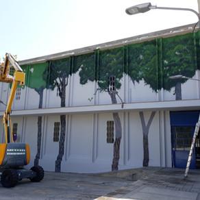 Restauración fachada MERCAT VELL (Calafell)