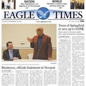 MEDIA - Eagle Times: Businesses, officials brainstorm in Newport