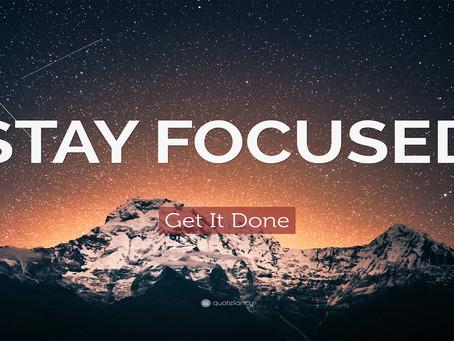 The Magic of Focus