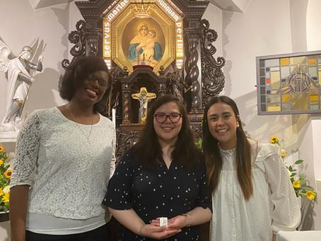 Jóvenes latinas en Alemania ¡Ellas le dieron un Sí a la Virgen María!