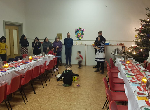 Los inmigrantes hispanos encuentran  en Schoenstatt-Alemania un Hogar cálido para festejar Navidad