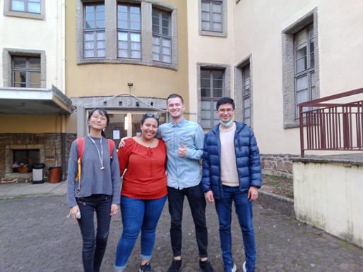 ¡Me traje a mis amigos para ayudar en la Casa de Alianza! Un team que contagió pura alegría