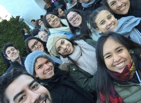 ¡Ellos están haciendo lío en Alemania!  Encuentro de Jóvenes Católicos en Schoenstatt