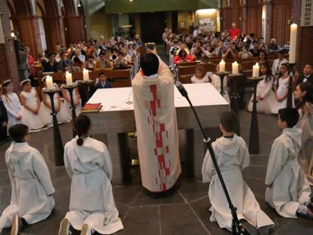 En el día del párroco: Padre Oscar, un sacerdote exportado desde Argentina para Hamburgo.