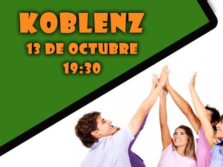 ¡Los jóvenes católicos de Koblenz ya tienen fecha y lugar de encuentro !