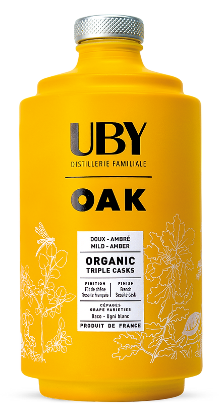 BOUTEILLE PACKAGING UBY OAK