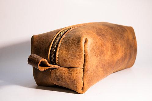 Leather Shaving Bag