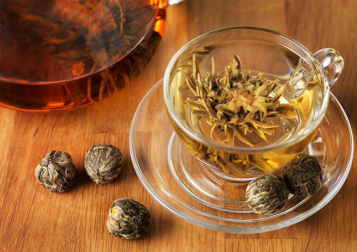 Blooming Tea top