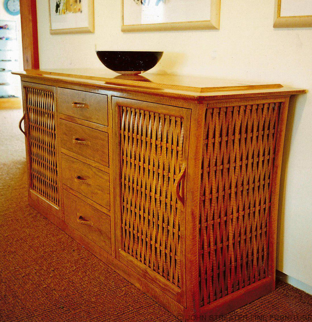 Weaved Sideboard