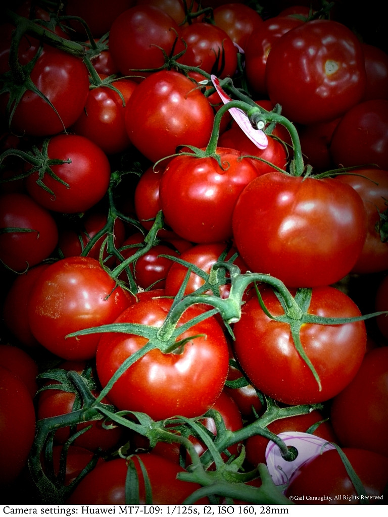 Valentine's Day tomatoes