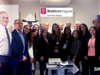 Delegacia Sindical de Petrópolis e Bradesco Seguros promovem café da manhã para os corretores de seg