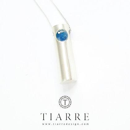 Medalion cu Safir Blue Blood Cartouche