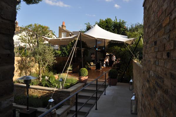 Beer garden needs a roof