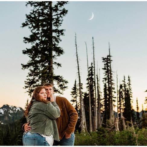 Kalen and Andrew- Mount Rainier