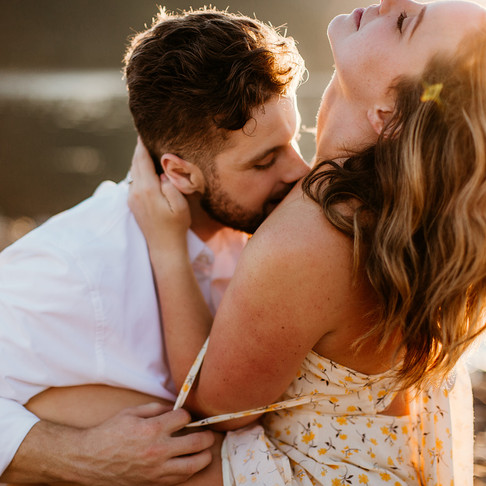 Alyssa and Kenneth's Engagement session- Lake Cushman WA