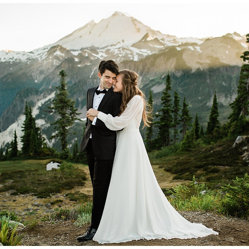 Emma and Harry's Elopement- North Cascades, WA