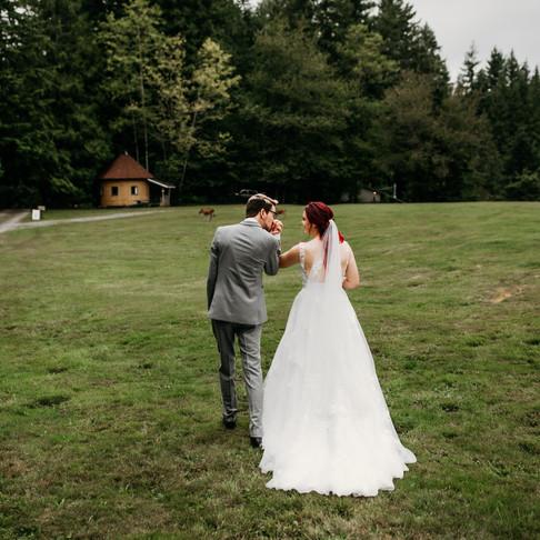 Caitlin and Tie's Wedding- Hidden Valley Camp, WA