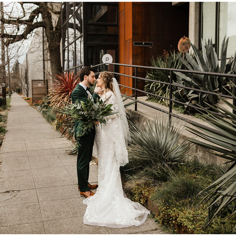 Mallory and Jeremy's Wedding- Downtown Seattle, Fremont Foundry