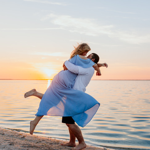 Tiffani and Garrett's Engagement- Florida Island