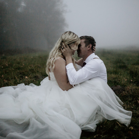 Kassidy and Brandon- Foggy night and mysterious lovers