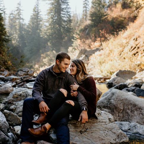Kate and Brandon- Fall in Washington