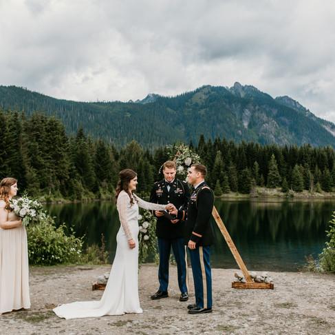 Blaine and Jeremy's Wedding- Gold Creek Pond