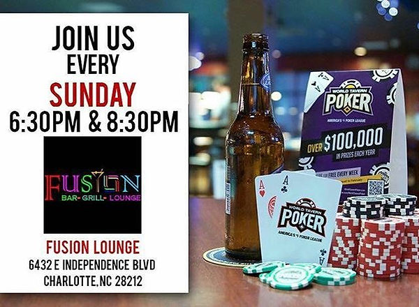Every Sunday poker night followed with R