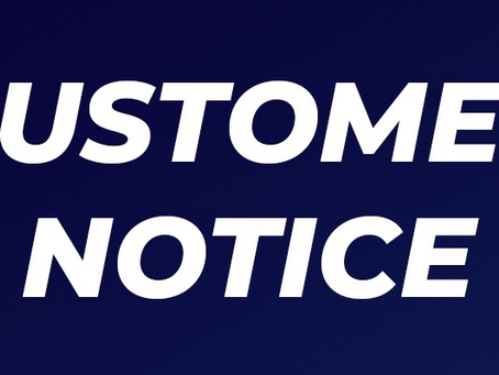 Customer Notice - Office Re-opens