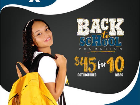 Back to school Promotion 2019