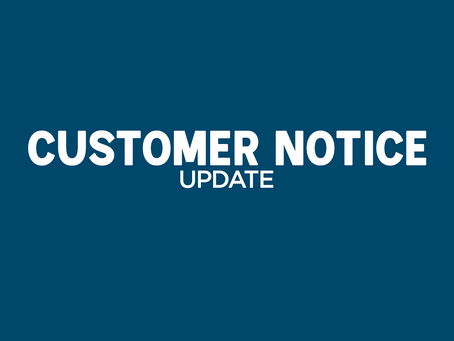 Centaur Customer Notice - 4/4/2020