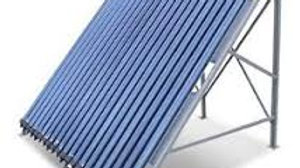 Colector solar presurisable