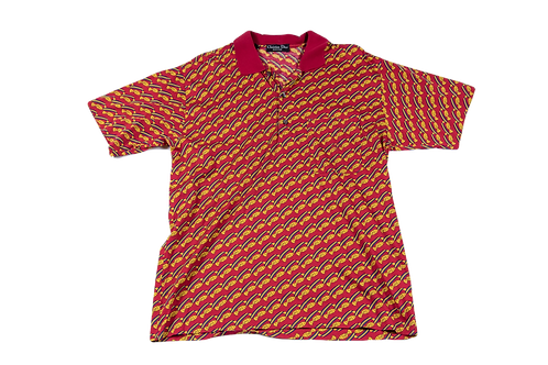 DIOR homme gold fish polo
