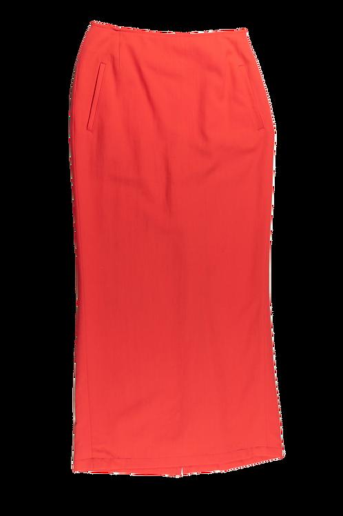 YOHJI YAMAMOTO coral skirt