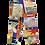 Thumbnail: MOSCHINO crazy prints pants