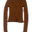 Thumbnail: CHANEL brown cashmere sweater