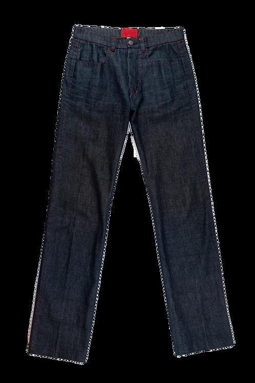VALENTINO raw jeans