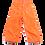 Thumbnail: COURREGES orange shorts