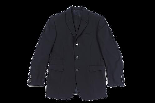 MUGLER men dark navy vest