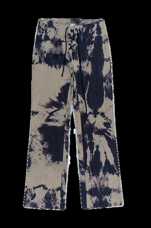 CELINE tie and dye pants