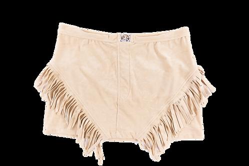 DIOR fringed skirt