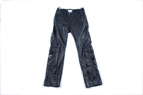 DIOR leather cargo pants