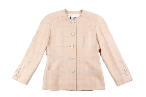 LANVIN extra shoulders jacket
