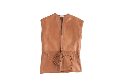 DIOR leather top