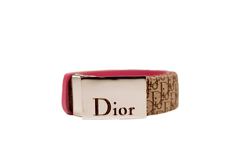 DIOR monogram belt